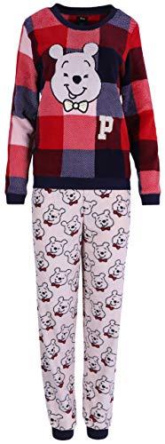 Warmer Schlafanzug Winnie The Pooh Disney kariert Medium