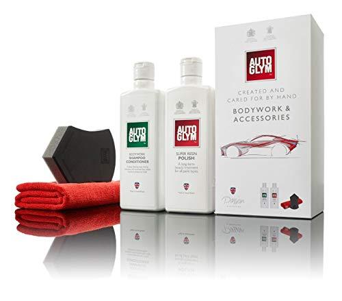 Autoglym Perfect Bodywork Cire de nettoyage pour carrosserie Kit d'entretien de peinture