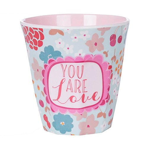 Overbeck and Friends Jule You Are Love Mélamine Tasse