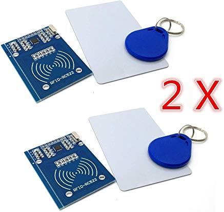 30 opiniones para AptoFun 2PCS RC522 IC Card RFID Reader Module Módulo de Lectura RF para Arduino,