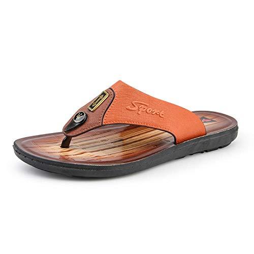 Ballyzess Sandalias Deportivas para Hombre Sandaliaszapatillas De Cuero Sandalias De Verano para Hombres Zapatos De Playa para Hombres Sandalias Casuales-40