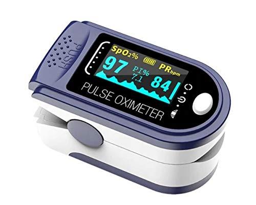 Preisvergleich Produktbild Pulsoximeter für den Finger zur Pulsmessung und Sauerstoffsättigung FÜR DEN FINGER