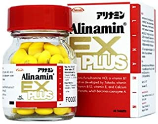 Takeda Pharmaceutical ALINAMIN EX PLUS 60 Tablets [For relief of tired eyes, stiff shoulder, and back pain] from Japan
