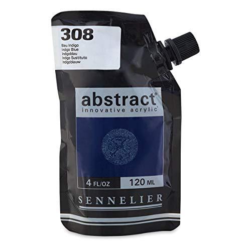 Sennelier 308 Color acrílico Abstract 120 ml Azul Indigo
