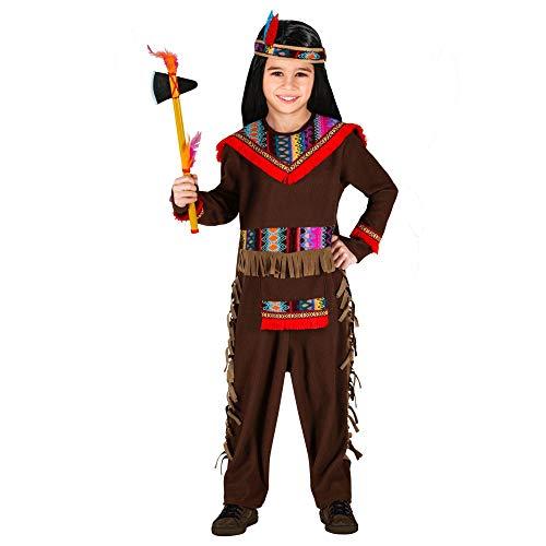 Widmann kostuum indianen