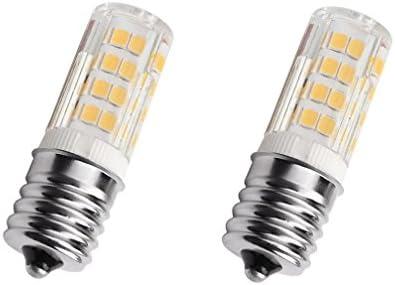 E17 LED Bulb 4 Watt Microwave Oven Light AC110 130V Warm White 3000K dimmable Pack of 2 product image