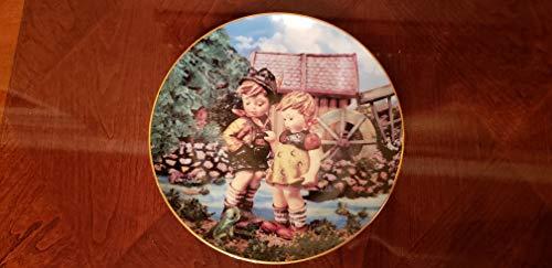 Danbury Mint c1990 Hummel kleinen Gefährten Hello Down There NEGR67 Teller
