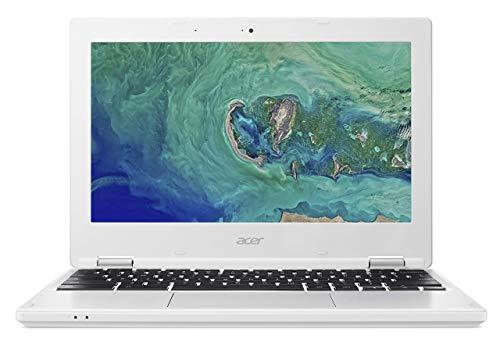 Acer Chromebook 11 CB3-132 - (Intel Celeron N3060, 2GB RAM, 16GB eMMC, 11.6 inch HD Display, Google Chrome OS, White) (Renewed)