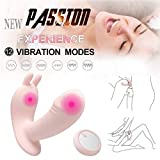 Healthy Wireless 10 Frequency Silicone Love Egg Wearable Massger USB chargeing for Stimulating Women and Couple Waterproof Clotoral Vibrartors Clothes