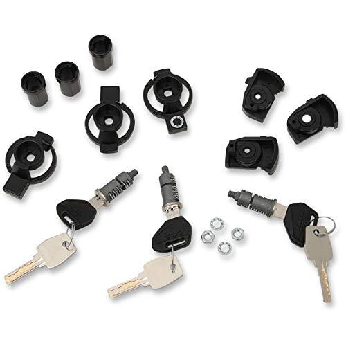 Givi SL103 Security Lock 3-Fach Schloss-Satz, Schwarz, 40