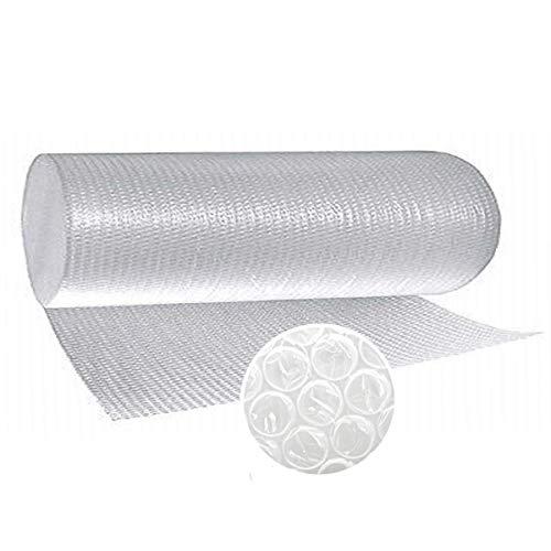 Papel burbujas embalaje, 【100 cm de ancho x 20 m lineales】, rollo de plastico de triple capa, mayor resistencia y durabilidad, ideal para acolchar y amortiguar cualquier producto.