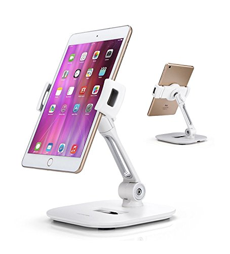 AboveTEK Stylish Aluminum Tablet Stand, Cell Phone Stand, Folding...