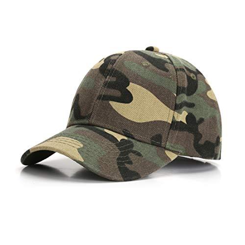 Durio Baseball Cap Kids Unisex Jungen Mädchen Mütze Kinder Kappe Hut Snapback Cap Baseballkappe für 3-8 Jahre Alt Armeegrün Camouflage Einheitsgröße