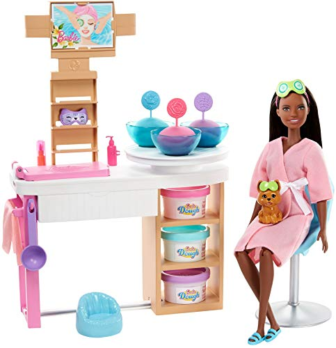 Barbie Face Mask Spa Day Playset