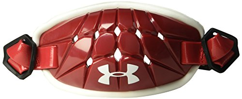 Under Armour mens Gameday Armour Chin Strap Red (600)/White One Size Fits All
