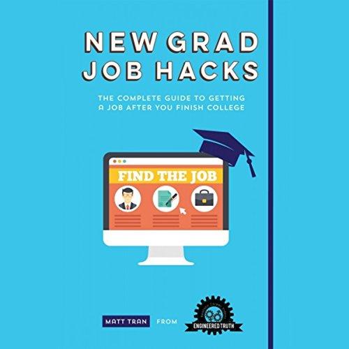 New Grad Job Hacks audiobook cover art