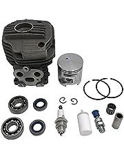 HCO-YU Kettingzaag 51mm cilinderzuiger Gegroefde kogellagerpakket geschikt voor Husqvarna K750 K760 Cutoff Betonzaag Motoronderdelen