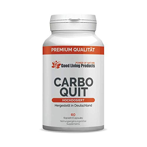 CarboQuit | Kohlenhydratblocker - Carb Blocker | ABNEHMEN für Männer und Frauen, hergestellt in Deutschland - 60 Kapseln (1 Dose)