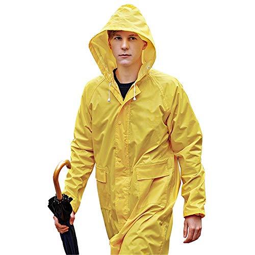 ddmlj Undurchlässiger Regenmantel Damen/Herren Wasserdichter Trenchcoat Poncho Einlagiger Regenmantel Damen Regenbekleidung Regenbekleidung Poncho@M_H