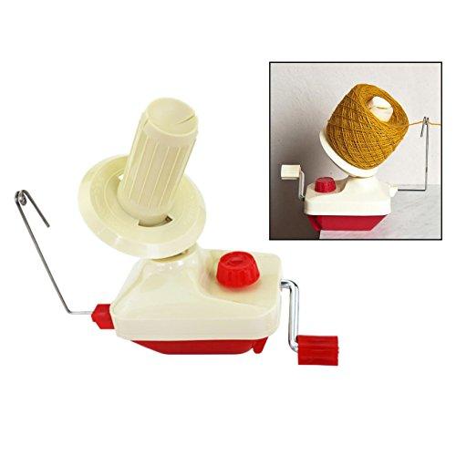 Itian Winder String - Plastic Shaft, Lana bobinadora, ganchillo hilo de tejer