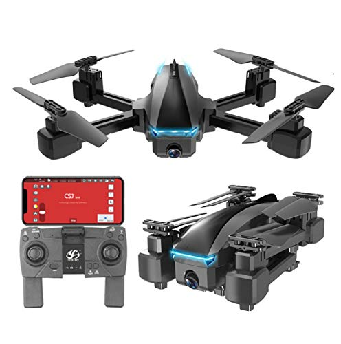 Drone 4K GPS 5G WiFi HD Wide Angle Dual Camera FVP Drone Flight 20Min RC Distance 600M Quadcopter Drone Toys Best Drone for Adults/Beginners,5G 4K Dual Camera