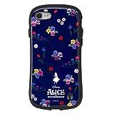 ディズニー ガールズフラワー iFace First Class iPhone SE 2020 第2世代/8/7 ケース [アリス]