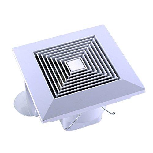 Badlüfter leise Lüfter Wandlüfter Ventilator Wärmeschutz für Küche Badezimmer - 250x250mm
