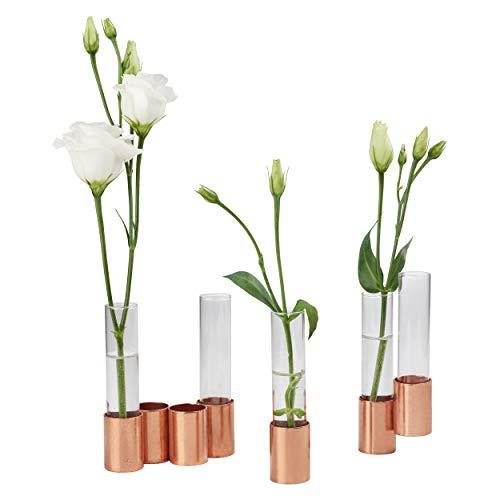 CREATE! by OBI DIY Kupfervase | Dekorative Vase aus Kupfer & Reagenzgläsern zum Selberbauen