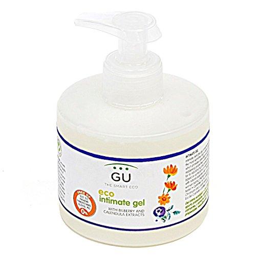 GU Planet - Gel Íntimo de Ducha para Mujer - Con Caléndula y Arándanos - 250 ml- Apto para Todo Tipo de Pieles - Gel de Higiene Femenina de Origen Ecológico - Mantiene el Correcto pH