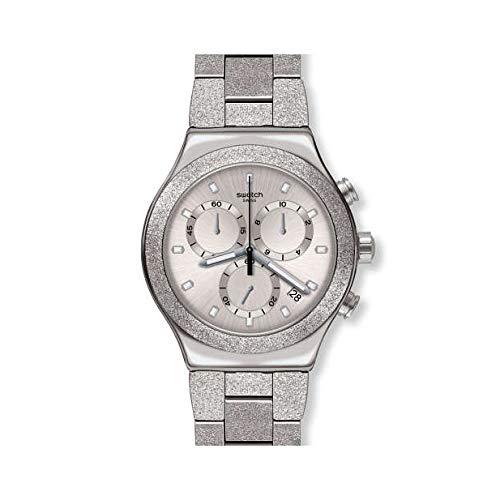 Reloj Swatch Irony Chrono YVS472G Silver Explosion