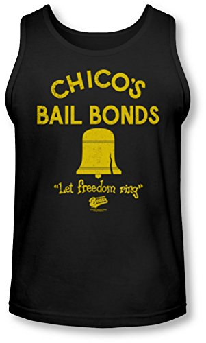 Bad News Bears - - Chico'S Men Bail Bonds Tank-Top, XX-Large, Black
