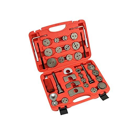 Sgxiyue Brake Piston 35PCS Universal Car Disc Brake Pad Caliper Regulator Rewind Wind Back Tool Kit Brake Pump Piston Adjustment Car Repair Tools