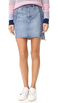 PAIGE Women's Vintage Adrien Skirt, Kora, 28