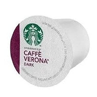 Starbucks Caffe Verona Dark Coffee K Cups 48 ct