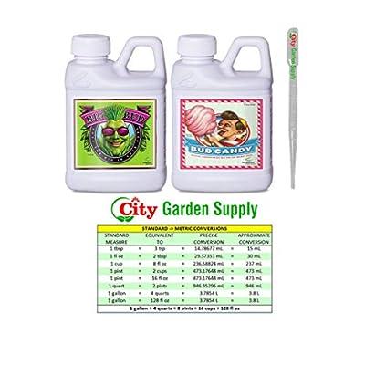 Advanced Nutrients Big Bud and Bud Candy Bundle Set Fertilizers Hydroponics (250 ml)
