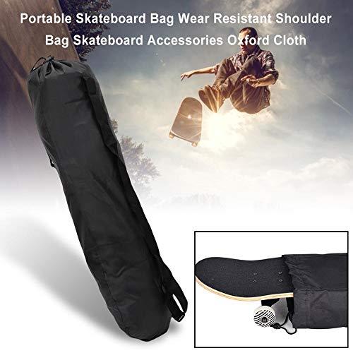 Somedays Skateboard-Tasche, Tragbarer Longboard-Rucksack Mit Verstellbarer Umhängetasche