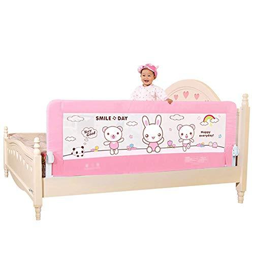 Stevige peuterbedhek, veiligheidsrek voor bed, gaasbeschermingshek voor kinderen, slaapwiegrail