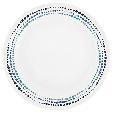 Corelle Livingware Ocean Blues 8.5  Lunch Plate (Set of 4)