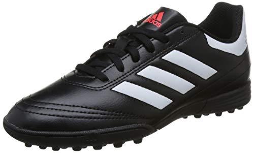 adidas Jungen Goletto VI TF J Fußballschuhe, Schwarz(Cblack/Ftwwht/Solred), 38 2/3 EU