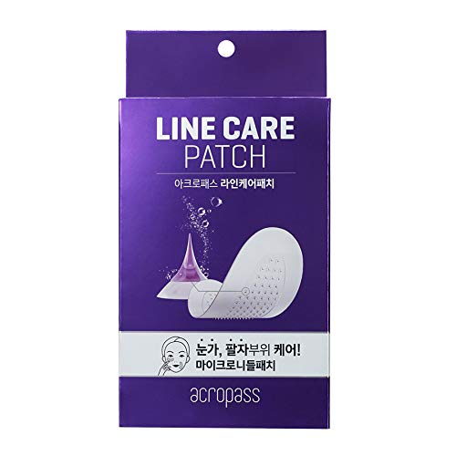 Acropass Line Care Patch | Anti-aging patch | Microcone patch (4 patch)