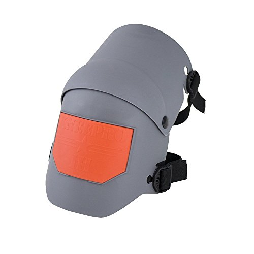Heavy Duty Protection and Comfort for Construction, Gardening, Army, Flooring Work – Grey and Orange, Knee Pro Pads - Pair
