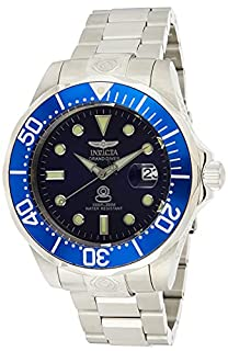 Invicta Men's 3045 Pro-Diver Collection Grand Diver Stainless Steel Automatic Watch with Link Bracelet (B000FVE3AC) | Amazon price tracker / tracking, Amazon price history charts, Amazon price watches, Amazon price drop alerts