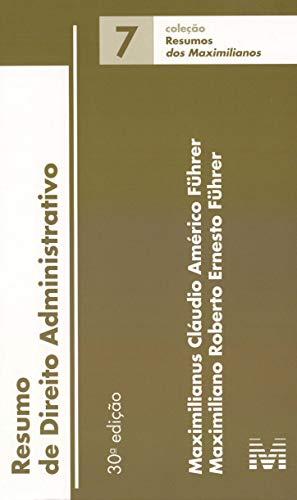Resumo (07) Direito Administrativo - 30 ed./2019