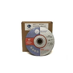 "6"" x .045 x 7/8"" T1 Premium Thin Cut-Off Wheel Metal & Stainless Steel - 25 pack"