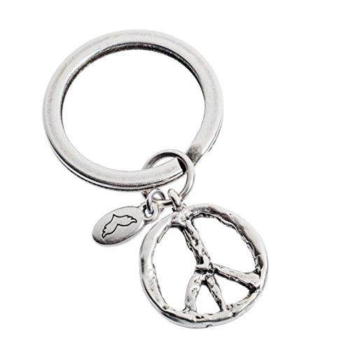 Schlüsselanhänger | Peace Zeichen