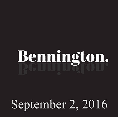 Bennington Archive, September 2, 2016 cover art