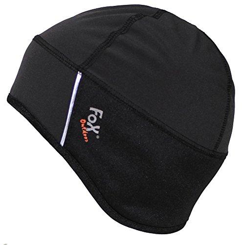 Mütze Softshell, schwarz, wasser-, winddicht Größe: L/XL