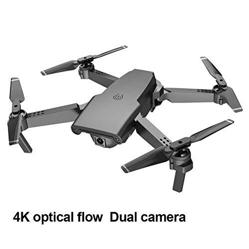 Drone 4k,Drone S8 Quadcopter Drone 4K Live Video Drone Con Doppia Fotocamera Pieghevole Drone -con Altitudine Hold Modalità Senza Testa Funzioni 6 Assi Gyro 15mins Tempo Di Volo Drone Quadcopter Per