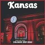 Kansas Calendar 2021-2022: April 2021 Through December 2022 Square Photo Book Monthly Planner Kansas small calendar