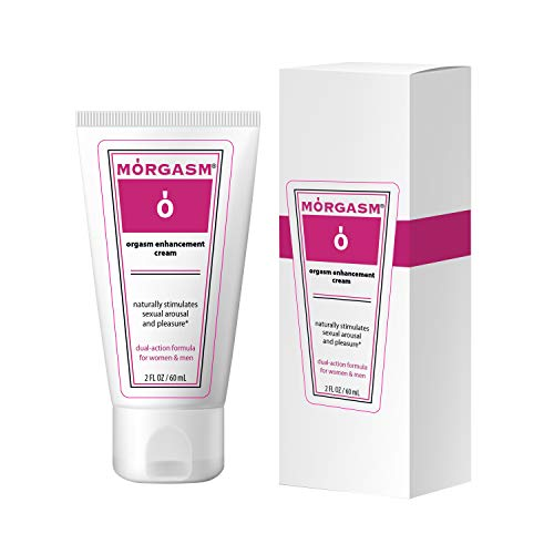 Morgasm L-Arginine Cream - Lubricant - Enhances Sensuality for Women and Men - No Parabens - All-Natural Ingredients - 60 mL (1)